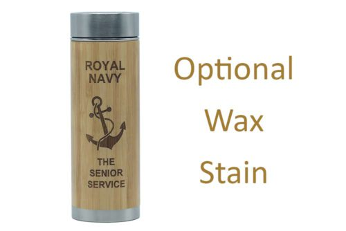 Anchor - The royal Navy stained charity flask
