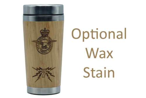 Fist and Sparks Bamboo Travel Mug with wax