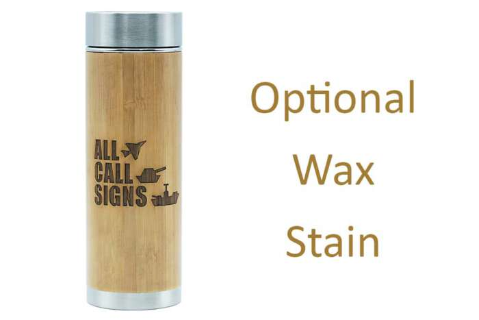 All Call Signs flask - waxed