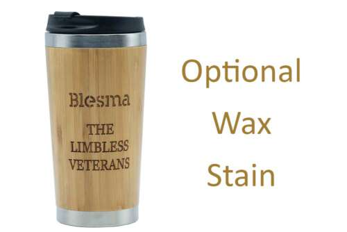 BLESMA the Limbless Veterans-travel mug waxed