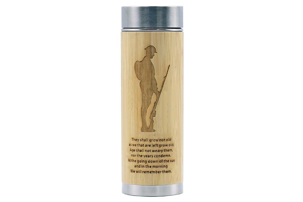 Remembrance Soldier Flask